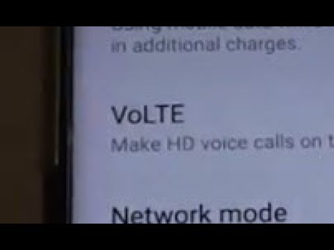 Samsung Galaxy S8: How to Enable / Disable VoLTE (HD Voice Call)