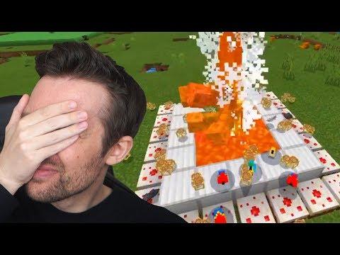 BENX REAGIERT AUF LUSTIGE MINECRAFT VIDEOS 2!