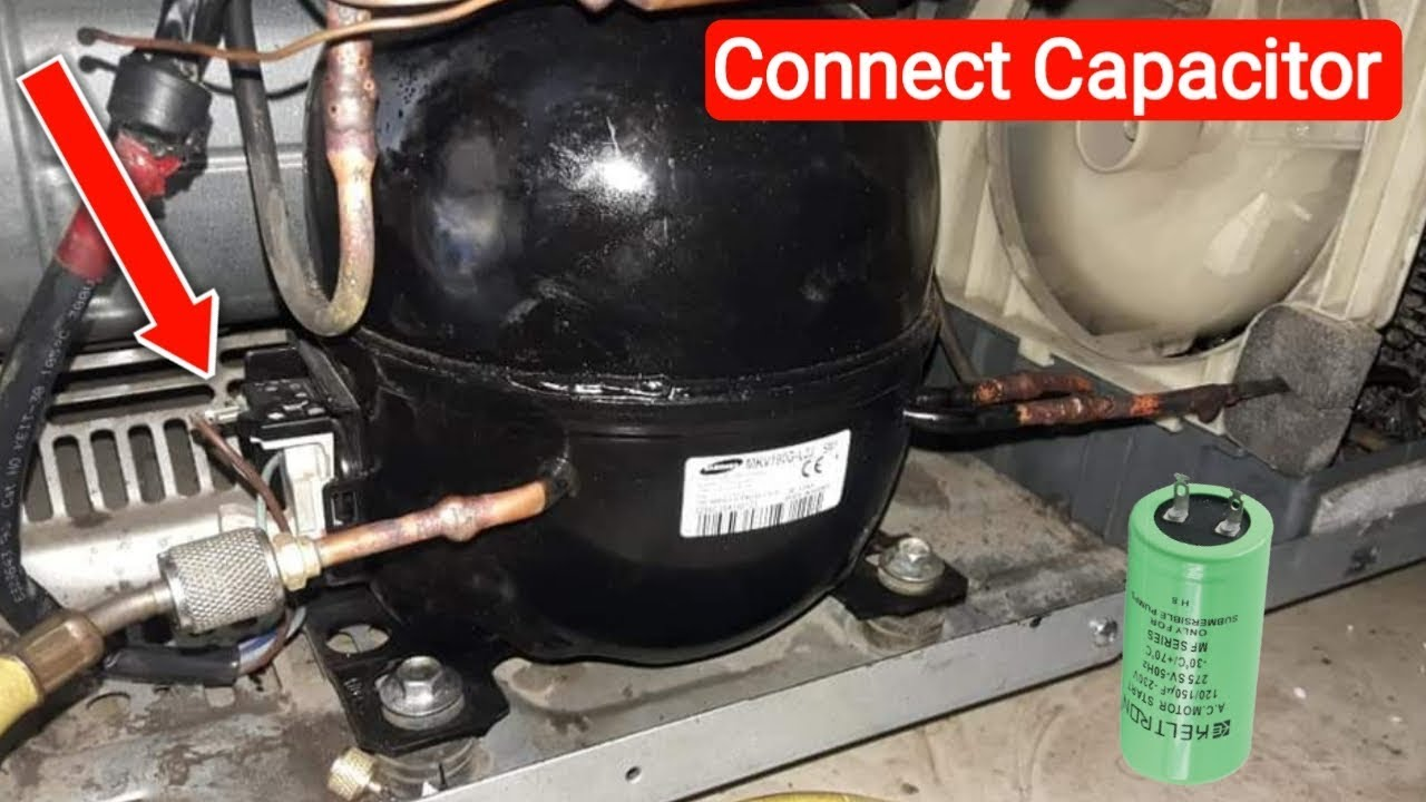 Wiring Compressor Russell Refrigeration Coil