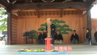 Soke Fumon Tanaka 据物三本斬 2Mbps.wmv