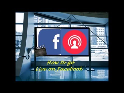 how to stream your live video to facebook -EVEN ON ANDROID!!