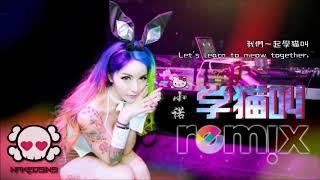 小潘潘& 小峰峰 - 学猫叫【DJ REMIX 舞曲 😻】抖音热爆