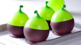 How To Make Chocolate Balloon Bowls Cake Decorating! Most Satisfying Cake Ideas 2018