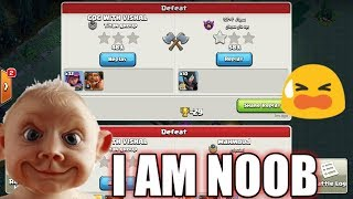 I Am Noob 😢 in Builder Base Clash of clans!!