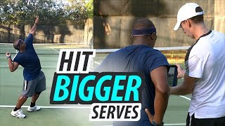 How to Improve Rotation for BIGGER Serves | Tennis Lesson (Part 1 of 2)