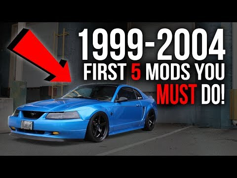 First 5 Modifications You MUST DO On a 19992004 Mustang!