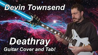 Deathray - Devin Townsend - Guitar Cover with Tab [HQ]