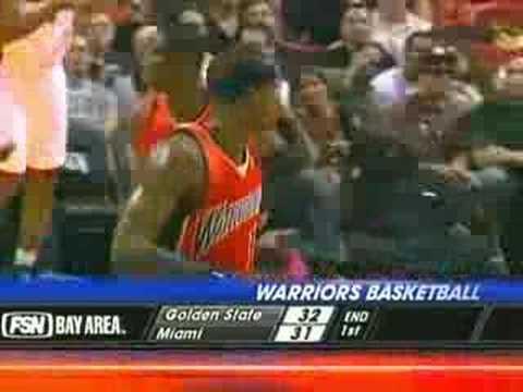 Heat vs. Warriors (3-7-08) Highlights (Part 1 of 2)