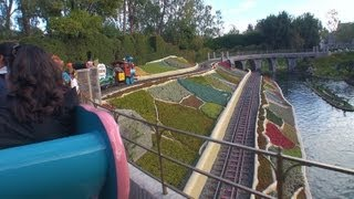 Casey Jr. Circus Train (On-Ride) Disneyland