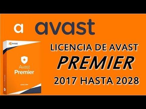 descargar avast premier 2017 full español con licencia hasta 2026