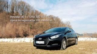 Hyundai i40 mini test смотреть