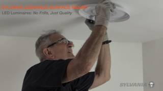 SYLVANIA LEDVANCE Surface Mount Luminaire - Installation Video
