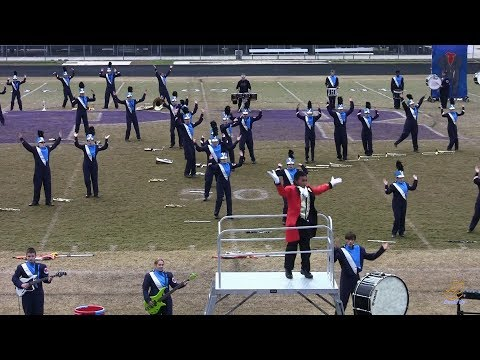 North Stanly High School Marching Band at Porter Ridge 10/27/2018