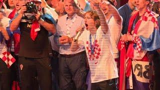 Croatians hail returning World Cup squad
