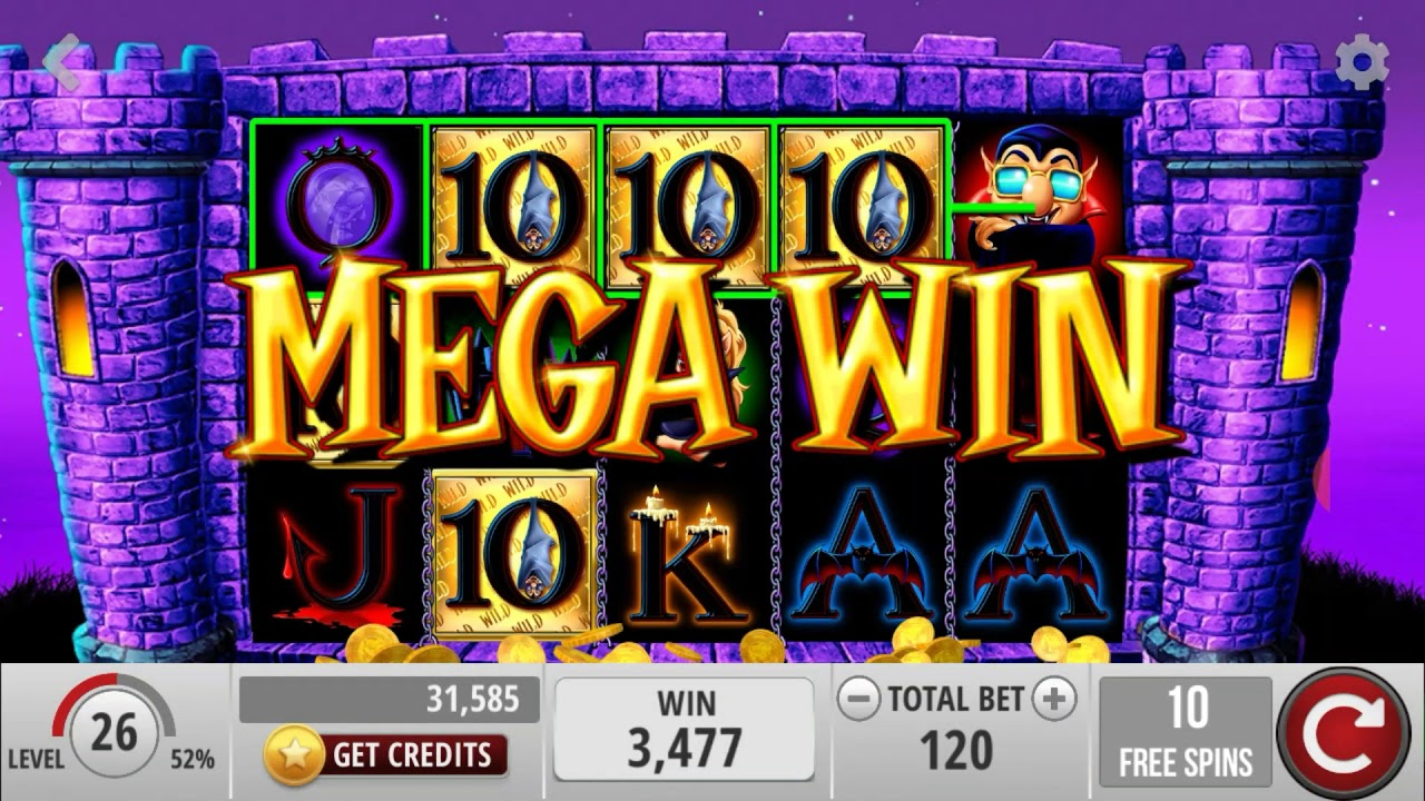 Ooh Aah Dracula Slot Machine