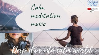 3 hours background music for meditation, calm your mind, listen on night to get instance sleep