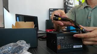 Unboxing Cooler Master MWE 650W Bronze