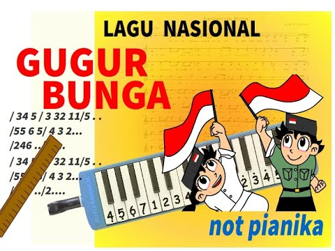 Not Pianika GUGUR BUNGA
