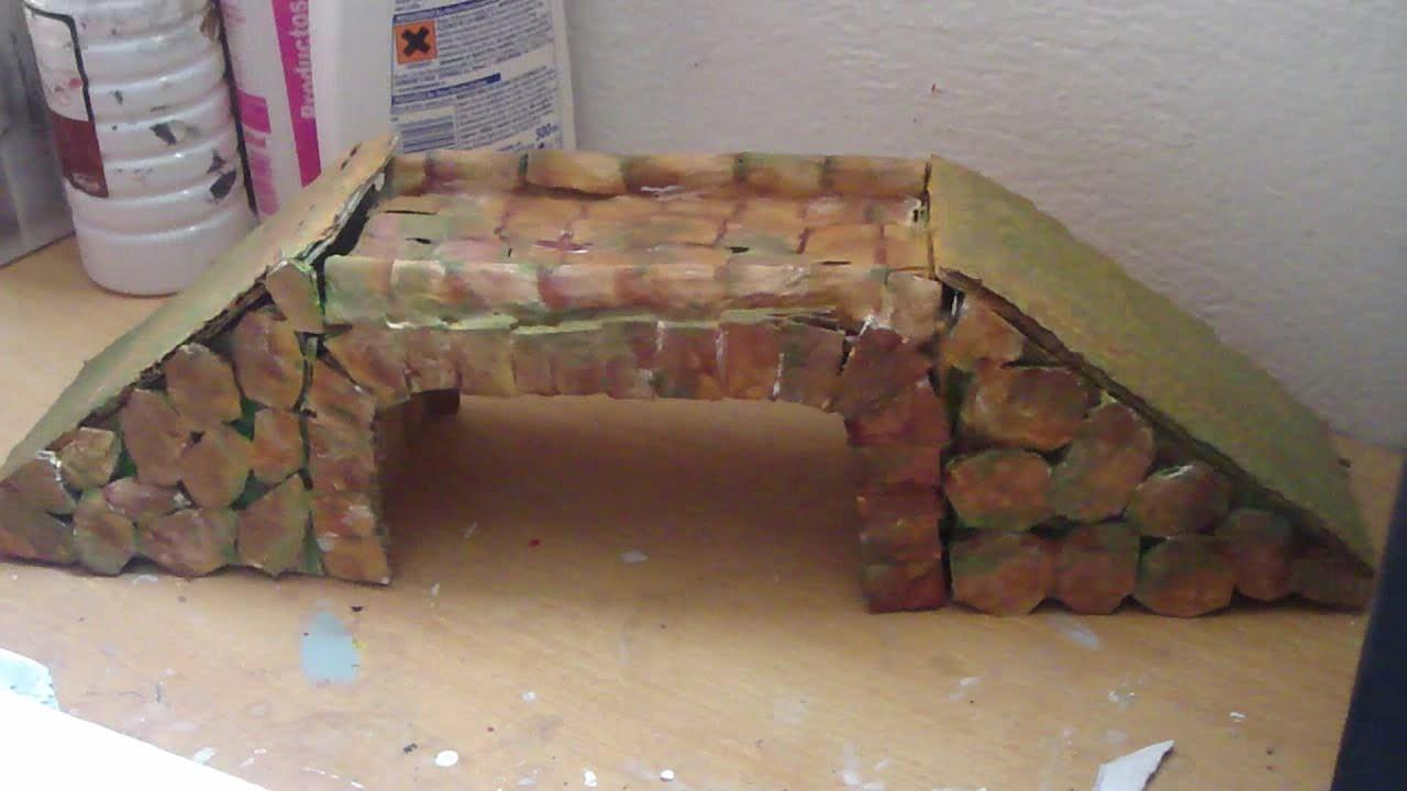 Puente romano para belenes y maquetas youtube - Casas para belenes hechas a mano ...