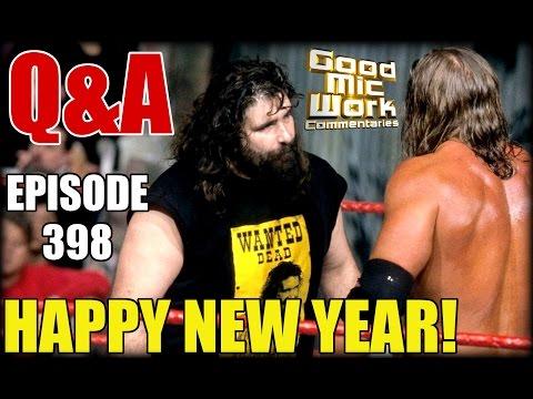 2016 Year-End Q&A ~ WWE vs WCW / Bret Hart vs AJ Styles / Kurt Angle Return / Ultimate Warrior