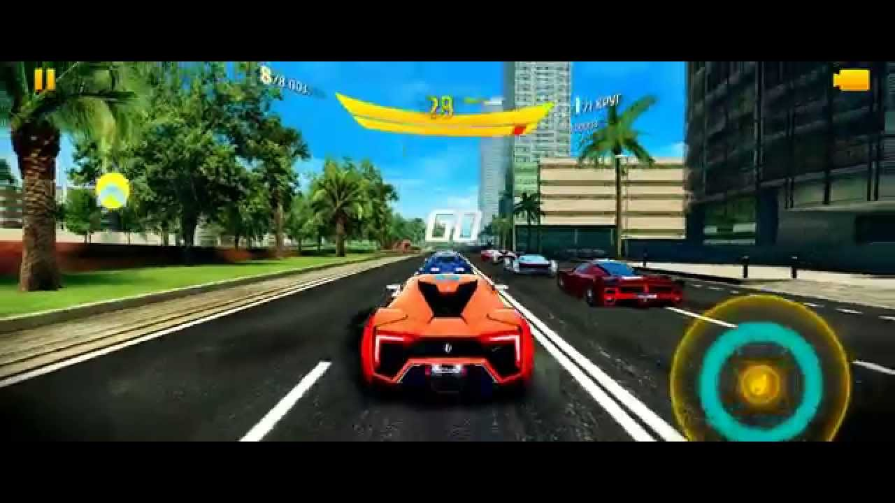 Asphalt 8 - Barcelona: W Motors Lykan HyperSport - YouTube