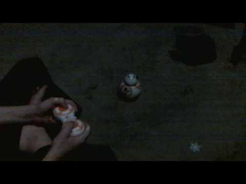 BB8 remote control toy bloopers
