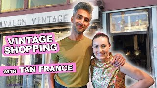 I Went Vintage Shopping With Tan France