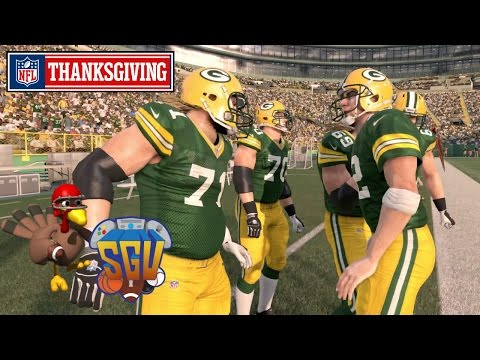 Madden 16 (Xbox One) - NFL Thanksgiving Day Sim: Packers vs Bears