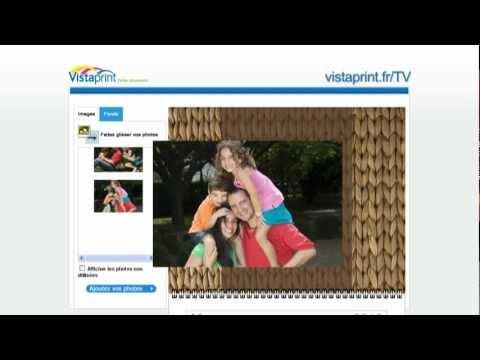 Calendrier Vista Print.Pub Tv Vistaprint France Calendrier Photo Personnalise 2011
