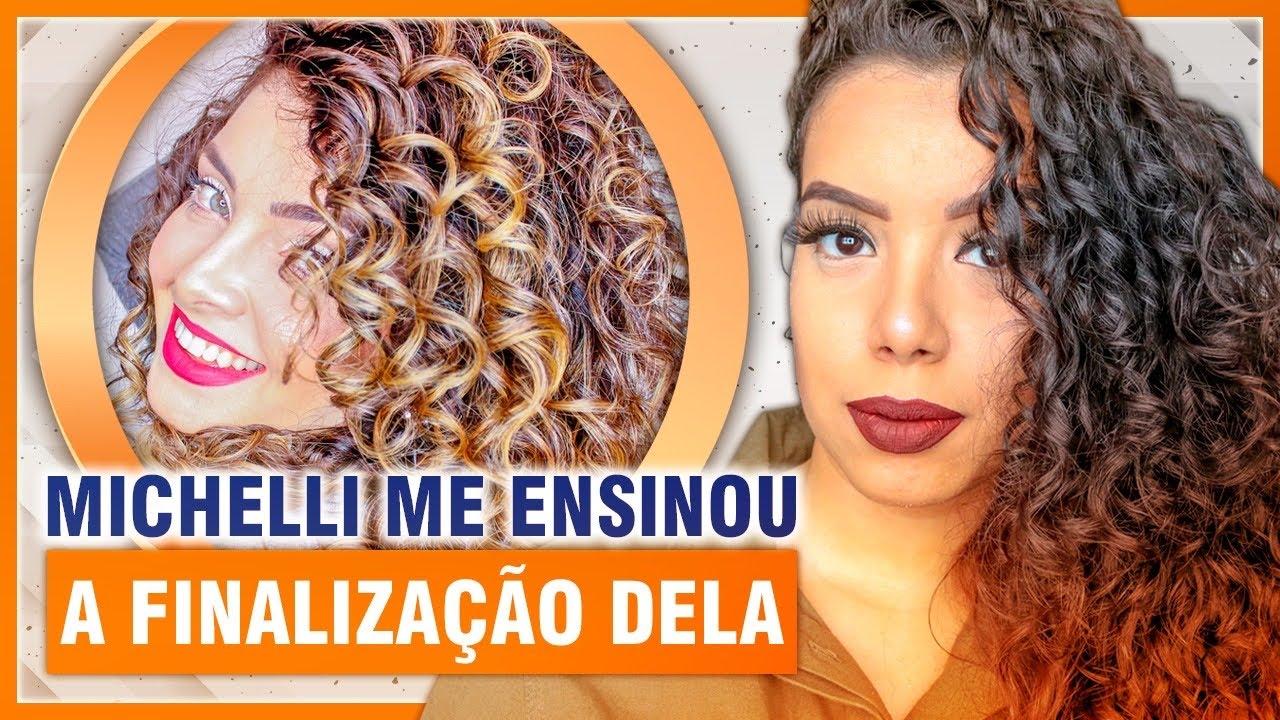 FINALIZAÇÃO PARA CABELOS ONDULADOS E CACHEADOS DA MICHELLI DELCARO - Tamires Maia