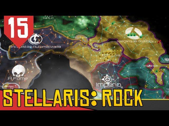 Adiantando as Pesquisas - Stellaris Lithoids 2.5 #15 [Série Gameplay Português PT-BR]