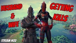 Mrs. & Mr. Slickety Getting Kills Mission | Fortnite Battle Royale