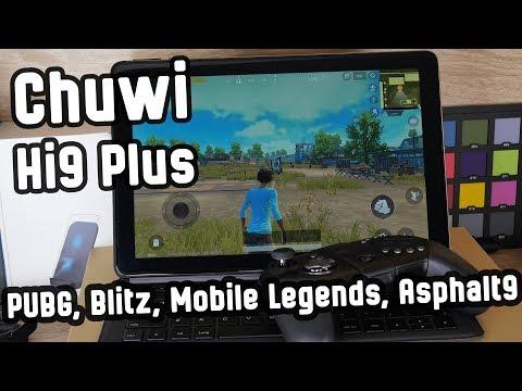 Игровой планшет Chuwi Hi9 Plus? Проверим! [Gaming & Performance]