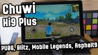 игровой планшет Chuwi Hi9 Plus? Проверим! Gaming & Performance