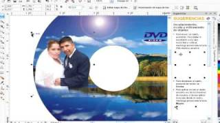 Tutorial: Diseño de etiquetas para cd y dvd en Corel X4