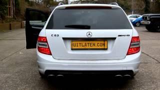 Mercedes C 63 AMG Estate met - Valve Controlled - Uitlaatsysteem van EPS Uitlaten BV