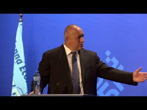 Бойко Борисов: Егоизмът на Балканите изчезна. Вчера го доказахме. Трябва да живеем в мир и да строим. Само така можем да вдигнем икономическия растеж. По време на дискусията