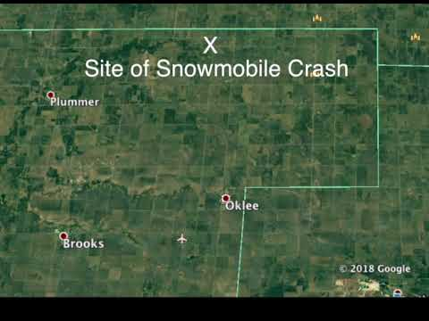 Serious Snowmobile Crash In Red Lake County, MN