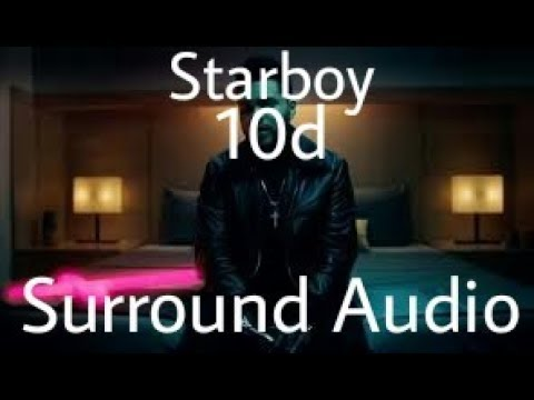Starboy 10d Surround Audio || Use your earphone || Jukebox EXO