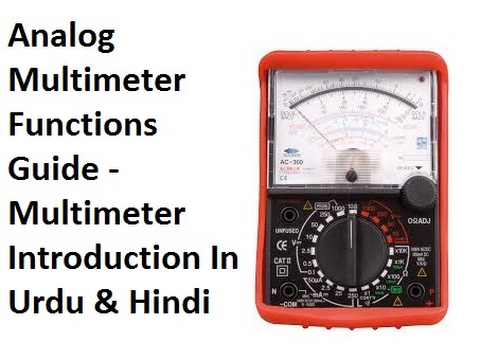 analog multimeter functions guide multimeter introduction in urdu rh youtube com Complete Guide Operations Guide