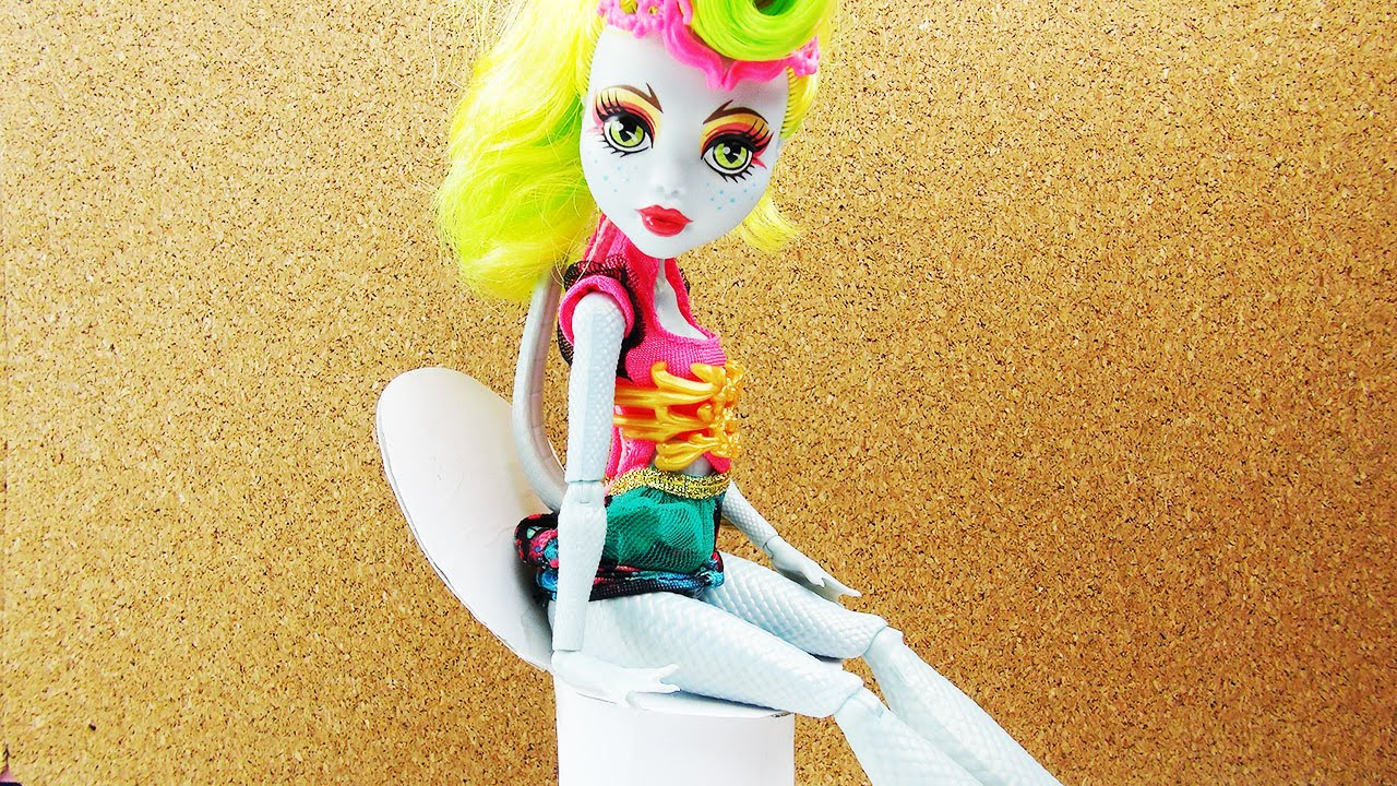 Monster High Toilette Basteln Barbie Mobel Selber Machen