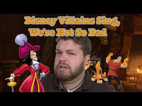 The Disney Villains Sing