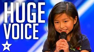 9-Year-Old Celine Tam Stuns Judges with her Voice | Got Talent Global