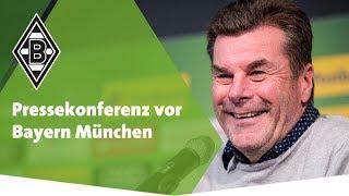 Pressekonferenz vor Bayern München