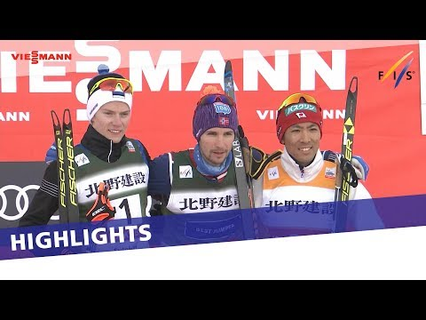 Jan Schmid comes from behind to take victory in 2nd Gundersen at Hakuba | Highlights