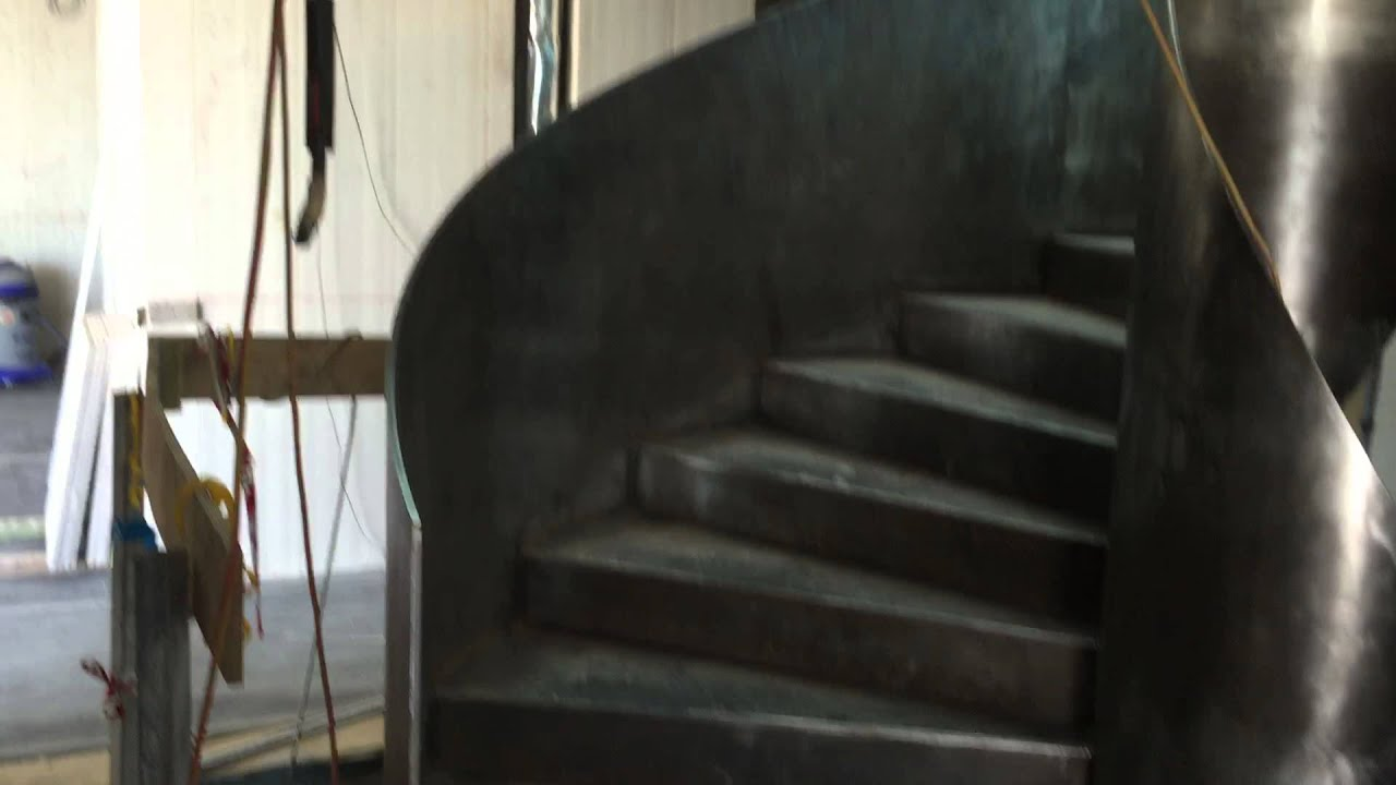 Steel Spiral Staircase By Lofficinabyvincenzo.com   YouTube