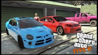 GTA 5 ROLEPLAY - NEW TURBO COBALT SS AND SRT4 NEON HIT THE STREETS - EP. 694 - CIV