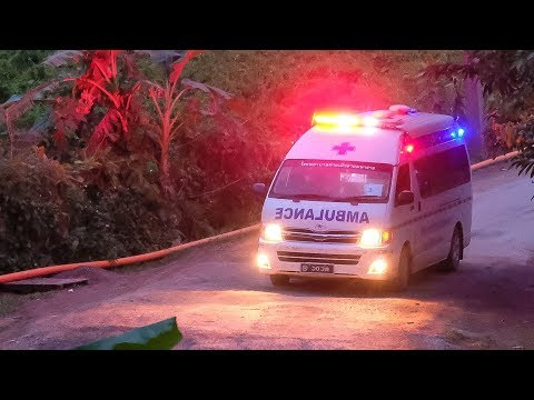 Thailand cave rescue: 8th boy rescued from cave
