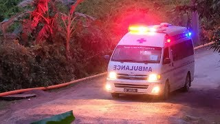 Thailand cave rescue: 8th boy rescued from cave thumbnail
