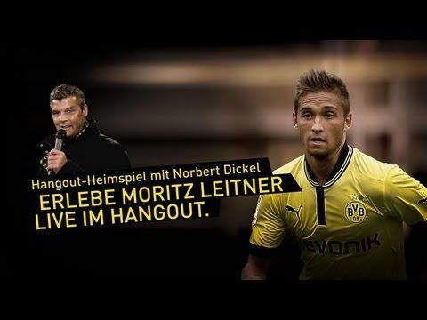 Hangout-Heimspiel mit Nobby - Gast: Moritz Leitner